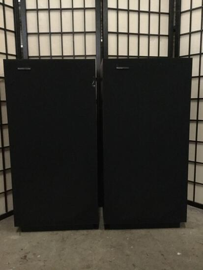 Pair of Boston Acoustic stereo tower speakers, see description