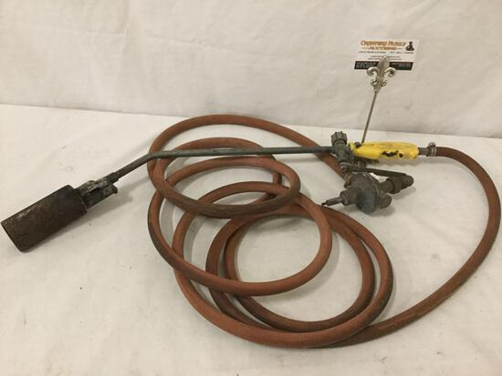 Italian made Blow torch w/ hose