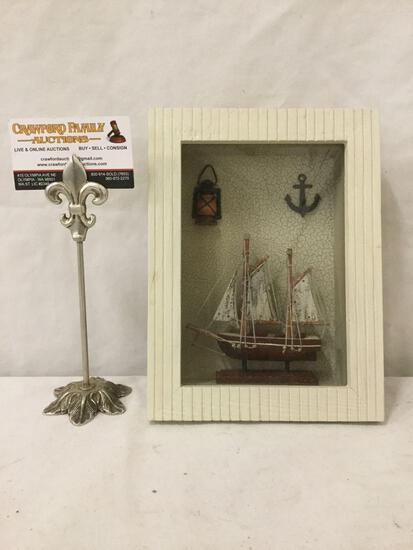 Window box w/ nautical ship theme