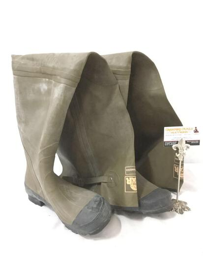 Fish America Pro gear size 11 fishing boot waders