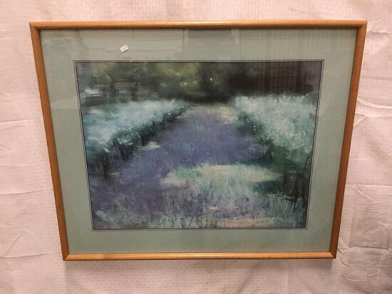 Framed art - Field by John Stockwell print