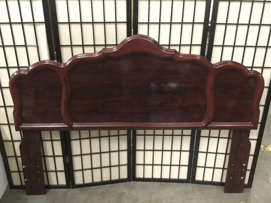 Regal modern Queen size headboard, some minor wear, see pics