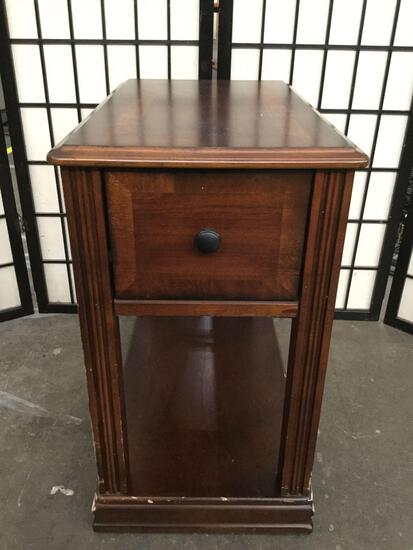 Wooden Ashley Signature Design 1-drawer end table