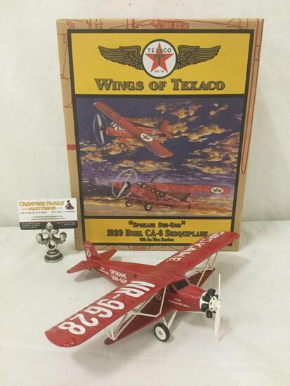 Wings of Texaco - Spokane Sun-God 1929 Buhl CA-6 Sesquiplane