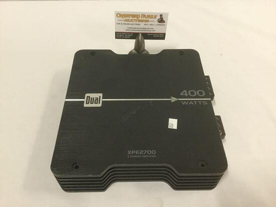 Dual Electronics Corp. XPE2700 400 Watt 2-1 Chanell Power Amplifier for car stereo