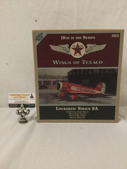 SEALED Wings of Texaco Lockheed Sirius 8A die cast model Plane ERTL