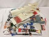 model airplane parts, batteries, body, wings, motor parts & more!