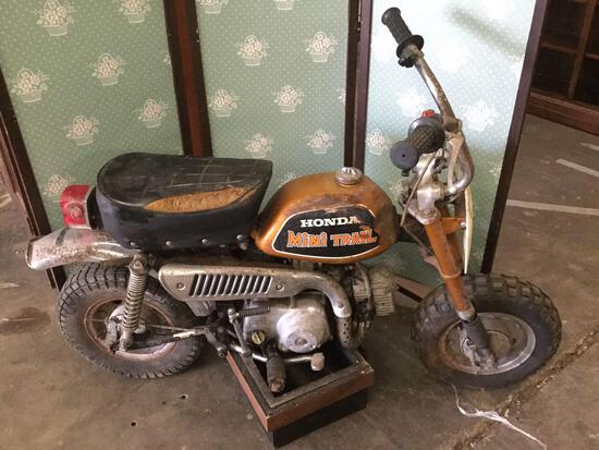 Vintage rare 1972 HONDA Mini Trail Z50AK3 50cc mini bike