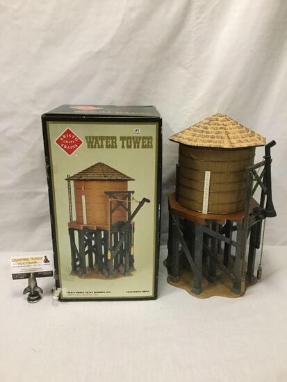Artisto Craft Trains Art 7103 Water Tower diorama structure in original box.