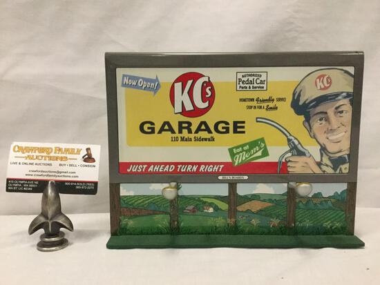 Kiddie Car Classics Welcome Sign Billboard Bills Board Series diorama piece 1997 Hallmark QHG3606