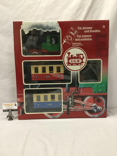LGB Lehmann-Gross-Bahn;The Big Train - Passenger Train Car Set - 72301, made in Germany, in box
