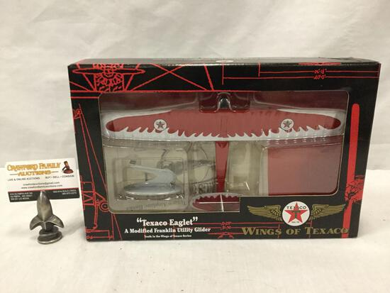 ERTL Texaco Wings of Texaco - Eaglet modified Franklin Utility Glider diecast replica toy in box