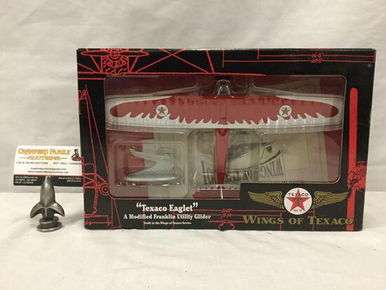 ERTL Texaco Wings of Texaco Eaglet modified Franklin Utility Glider diecast replica toy plane in box