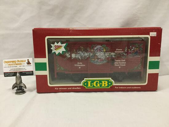 LGB Lehmann-Gross-Bahn;The Big Train - Merry Christmas Train Car - 43352, made in Germany, in box