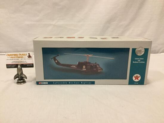 Corgi Classics Limited Edition Texaco Us50408 Huey Iroquois Texas Pipeline 1:50 scale helicopter