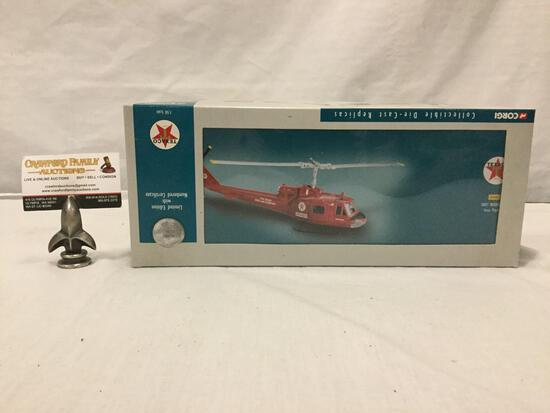 Corgi Classics Limited Edition Texaco Us50408 Huey Iroquois Texas Pipeline 1:50 diecast helicopter