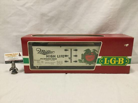 LGB Lehmann-Gross-Bahn;The Big Train - Miller High Life Train Car - 20582, made in Germany, in box