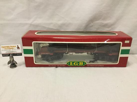 LGB Lehmann-Gross-Bahn;The Big Train -West Side Lumber Train Car - 41660, made in Germany, in box