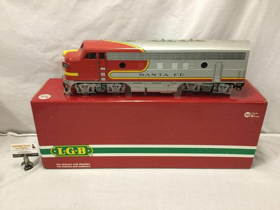 LGB Lehmann-Gross-Bahn;The Big Train - Santa Fe Train Car - 20570, made in Germany, in original box