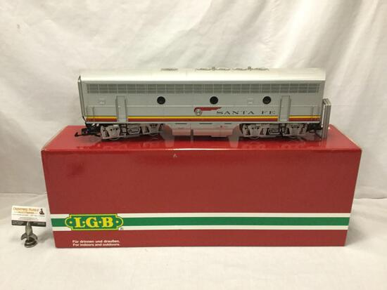 LGB Lehmann-Gross-Bahn;The Big Train - Santa Fe Train Car - 20582, made in Germany, in original box