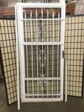 Screen / security Door w/ metal bars