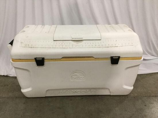 Large Igloo chest cooler. Approx 40x22x18 inches.