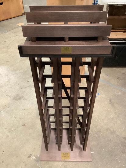 Kobrand Corp / Bish Creative Display Generic Wine Rack, po#112211, in opened box, sold as is