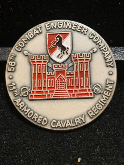 58th Combat Engineer Co,/ 11th Armored Cavalry/ Red Devils