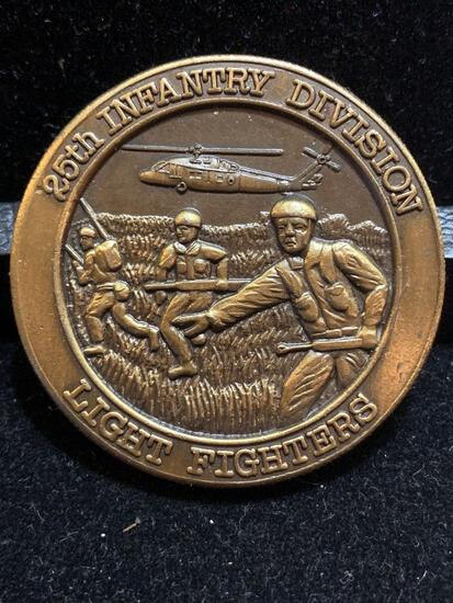Challenge Coin : 25th Infantry Division / Light Fighters