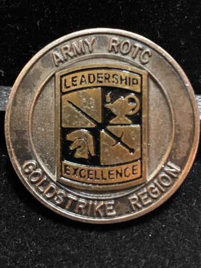 Challenge Coin : Army ROTC Gold Strike Region
