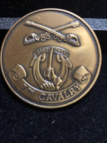 Challenge Coin : 7th Cavalry / Garry Owen