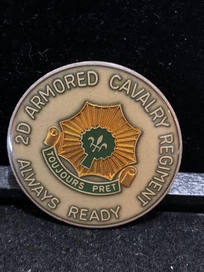 Challenge Coin :2d armored Cavalry Regiment / Operation Desert Storm 1990-1991
