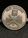 Challenge Coin : First Squadron first Regiment Of Dragoons