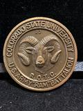 Challenge Coin : Colorado State University-ROTC- US Army-RAM- Battalion