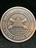 Challenge Coin : 3d Armored Division -Bundesrepulik Deutschland-US Army