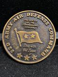 Challenge Coin : Swift and Sure US Army- 32d Army Air Defense-Defense Command