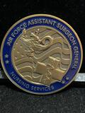 Challenge Coin : Air Force assistant Surgeon General / Nursing services / Kimberly A. Siniscalchi