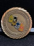 Challenge Coin: The retired Sergeants Major and Chiefs Association / Washington Chapter 1