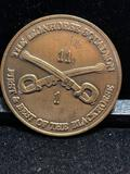 Challenge Coin : The Iron horse Squadron / First and Best of the Blackhorse