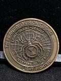 RARE Challenge coin:7th Infantry Division / Masters of the night / Light fighter/ Bayonet Div. JLB