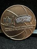 Challenge Coin : USAA Official Military Appreciation Partners Of The San Antonio Spurs