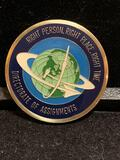 Challenge Coin : Right Person Right Place Right time / Directorate of Assignments