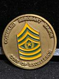 Challenge Coin : Command Sergeant Major Coin of Excellence / Madigan Army Medical Center