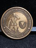 Challenge Coin : US Army Communications Electronics Command / Fort Monmouth NJ/ Commanders Medallion