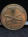 Challenge Coin : Combat Support Squadron/ Eleventh Armored Cavalry/ We Carry The Cav