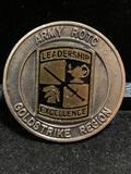 Challenge Coin : Army ROTC Gold Strike Region
