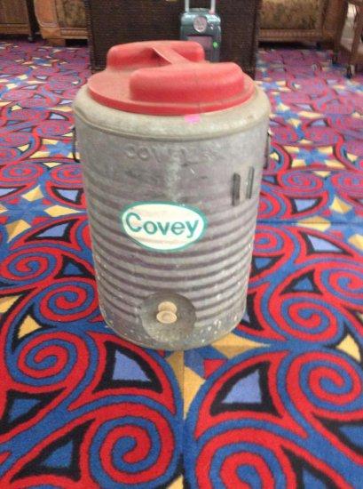 Nice vintage Covey 5 gallon al    Auctions Online | Proxibid