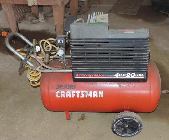 Craftsman 4 hp 220 Air Compressor