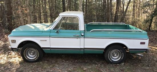 1972 Chevy Cheyenne Pick up Truck