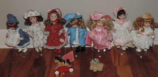 Paradise Galleries Small Collector Dolls